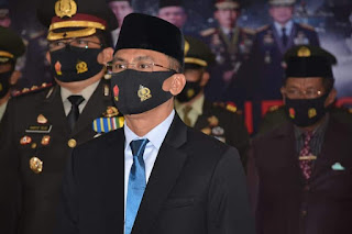 Wakil Wali Kobi Hadiri Upacara Virtual dan Syukuran HUT TNI ke-75 Tahun 2020