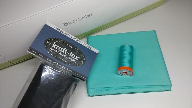 Cutting Kraft-Tex with a Cricut