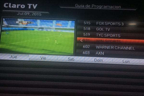 Claro tv colombia win sports betting bet channel on directv