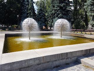 Черкассы. Фонтан возле городской администрации