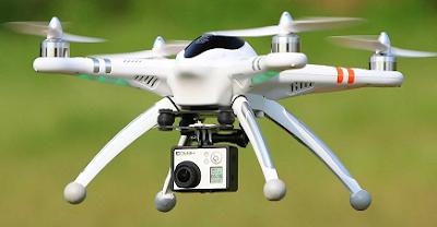 Pesawat tanpa awak drone digunakan untuk menyelundupkan obat