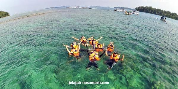 rencana perjalanan private wisata pulau harapan