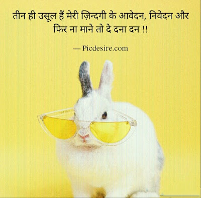 30 Funny Quotes in Hindi on Life