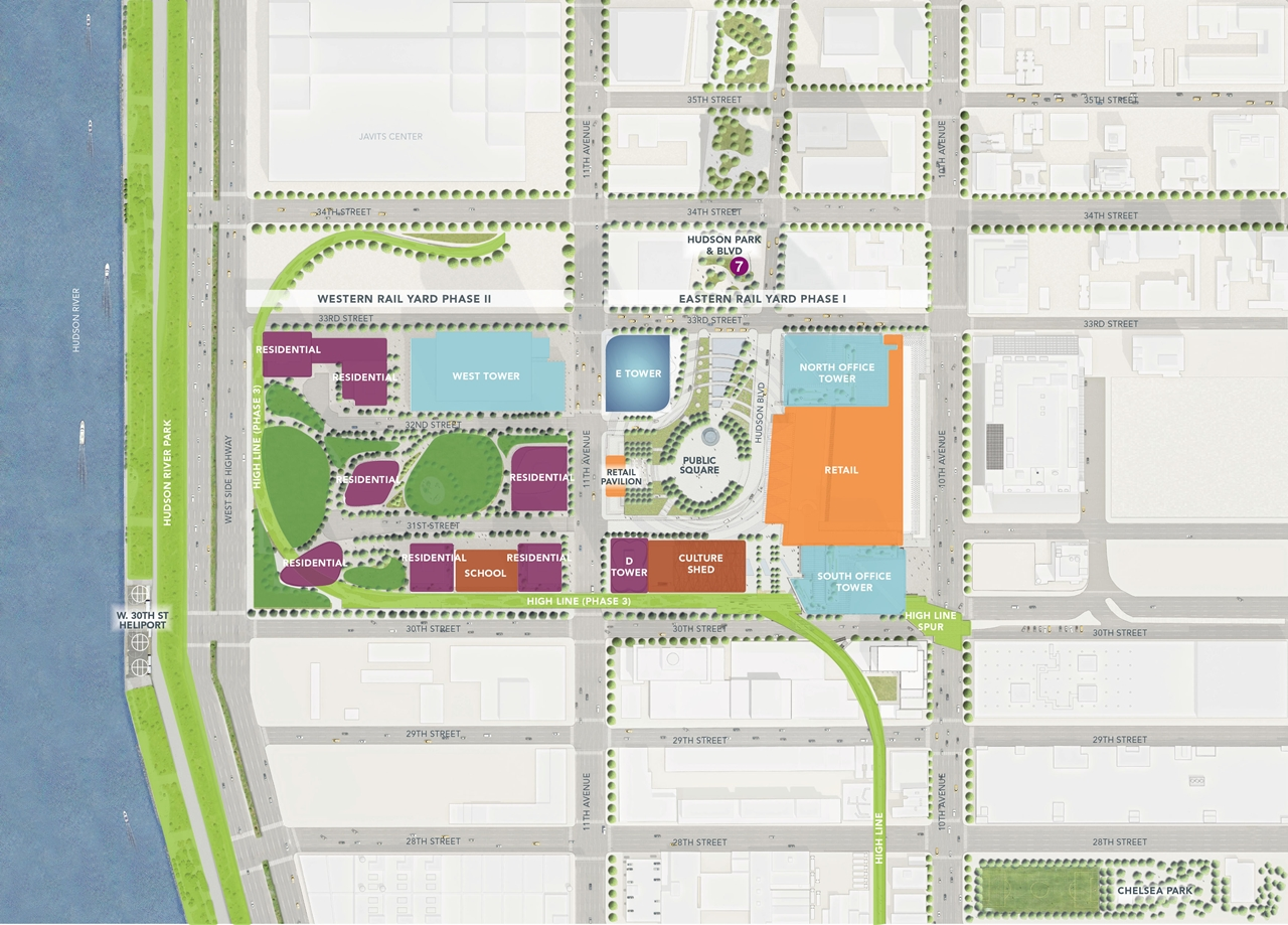 Hudson Yards Development Map K Pictures K Pictures Full HQ - Yard mapping program
