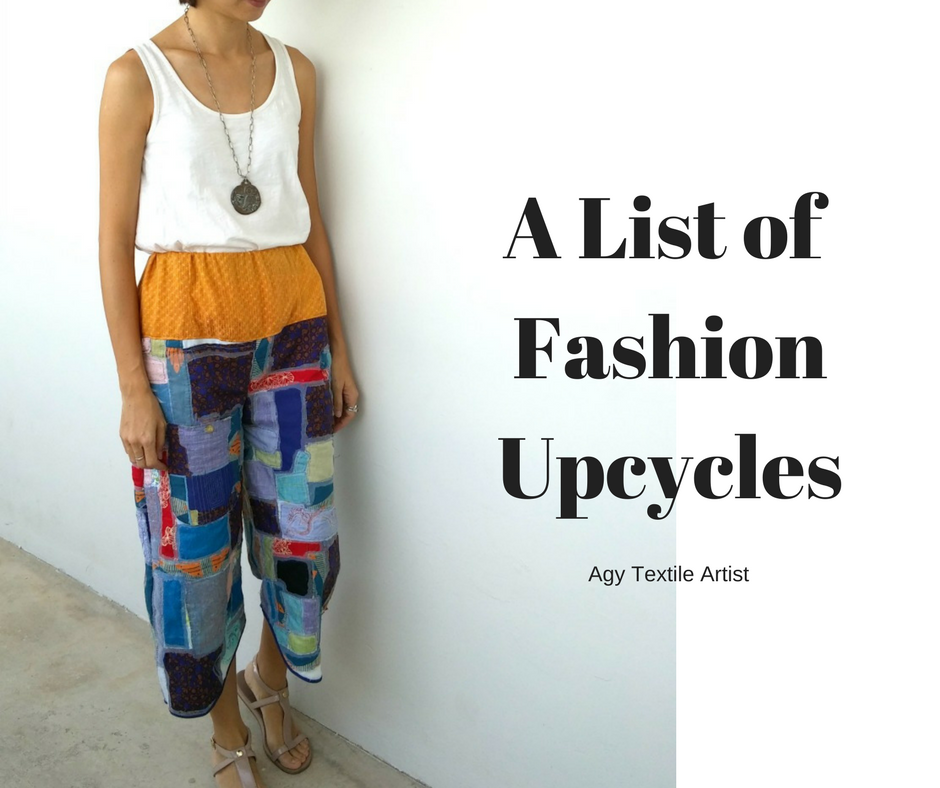 How to upcycle your clothes