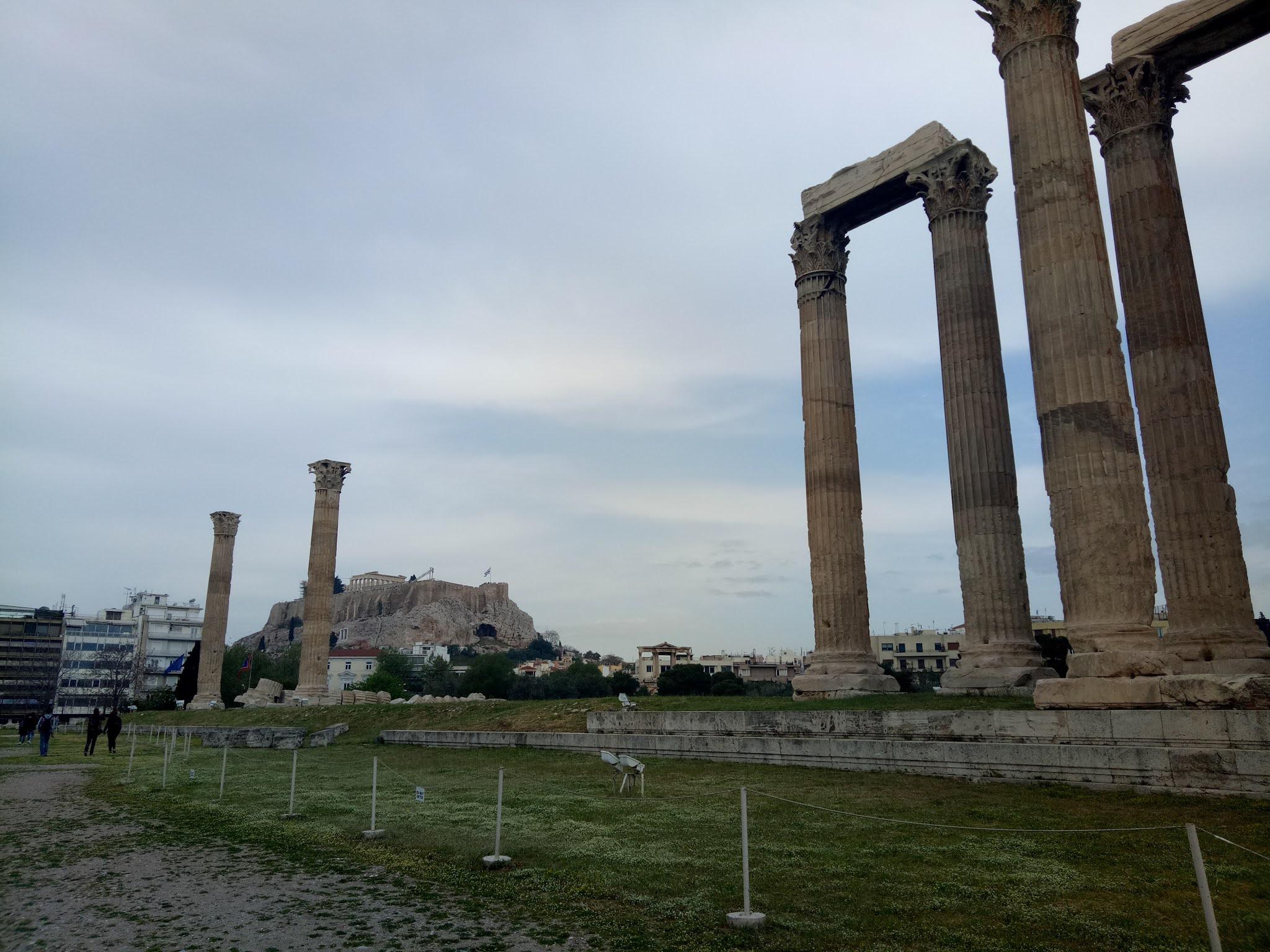 Travelog Greece, Athens: Olympieion