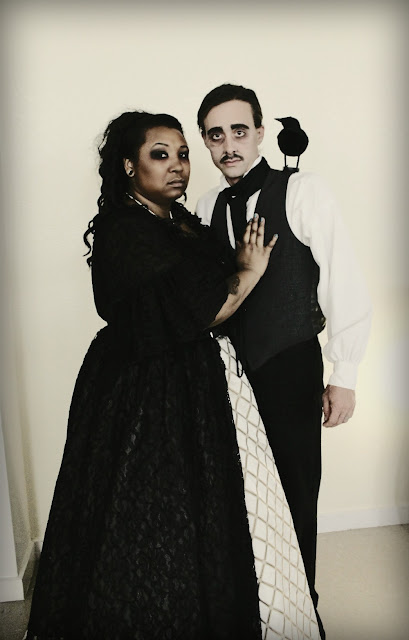 Edgar Allan Poe and Lenore Costume