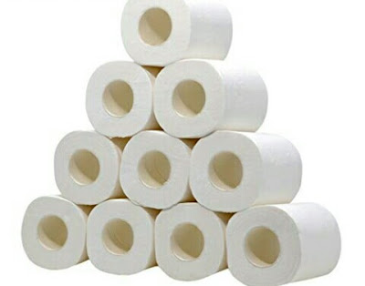 Zicth 4Ply Toilet Tissues - Biodegradable Paper Rolls
