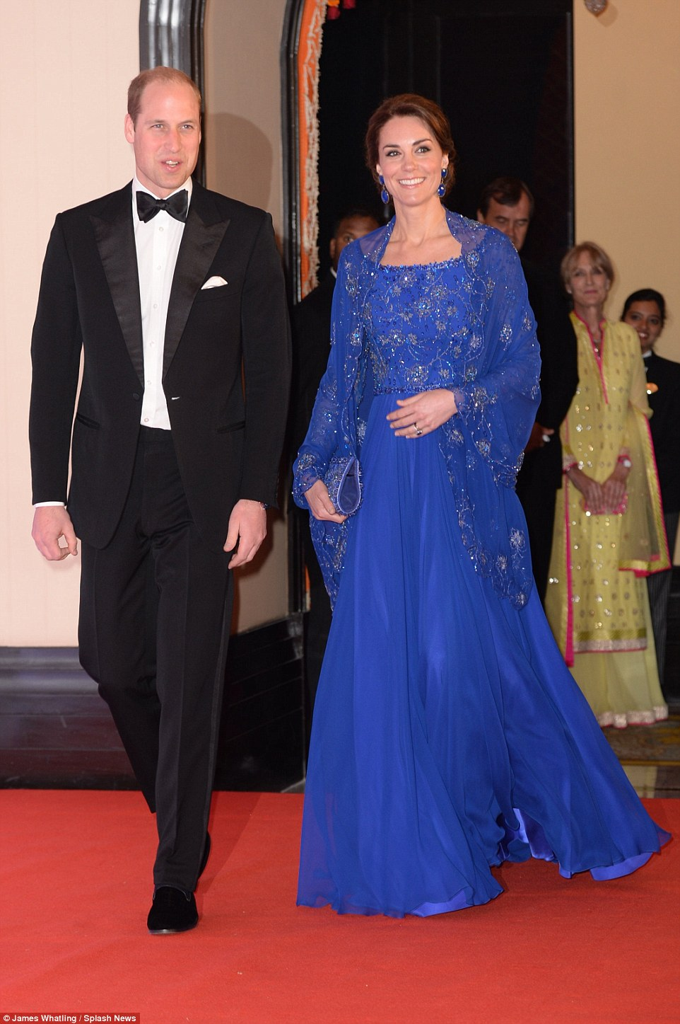 Kate & William met with Bollywood actors and singers on Royal Tour