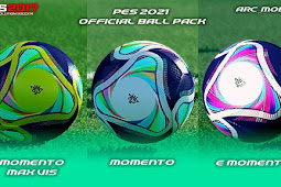 PES 2021 Official Ball Pack For - PES 2017