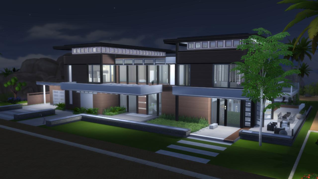 My Sims 4 Blog: Malibu Modern House