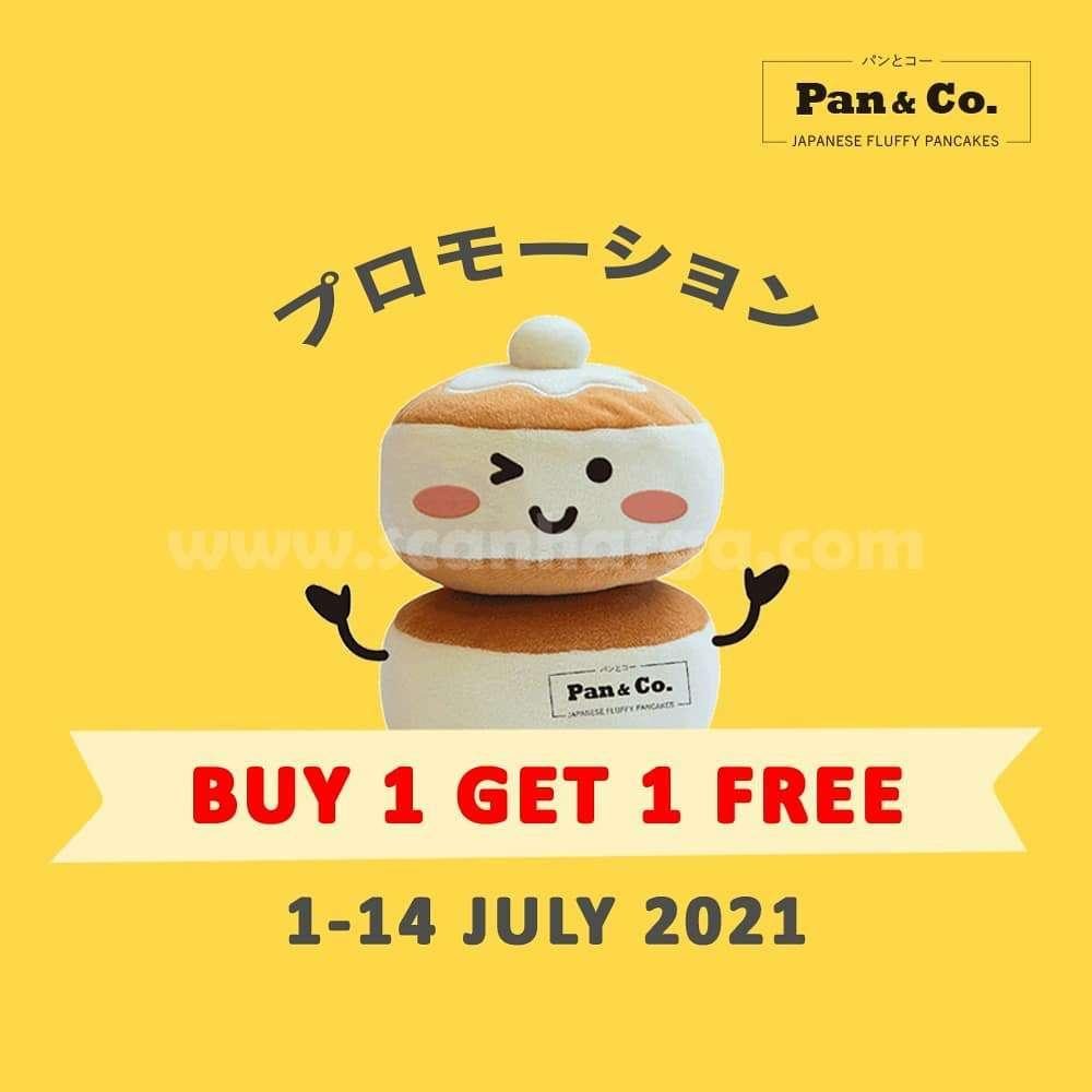 Promo Pan & Co Beli 1 Gratis 1