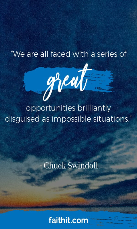 """""""We are all faced with a series of great opportunities brilliantly disguised as impossible situations."""""""