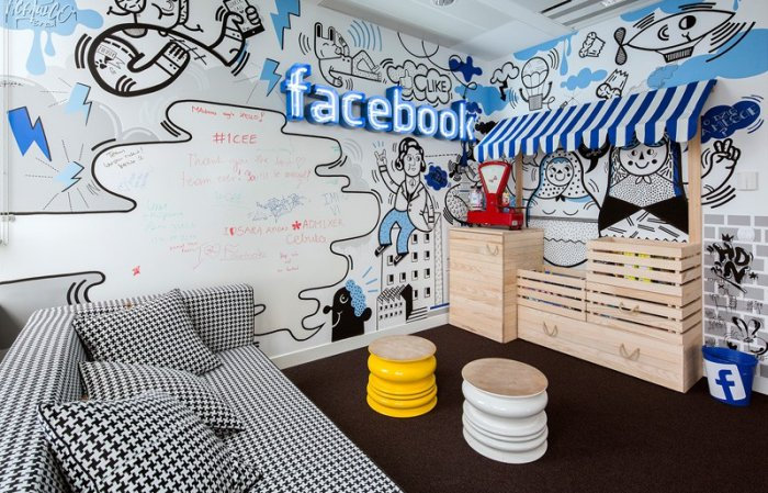 Desain Kantor Facebook