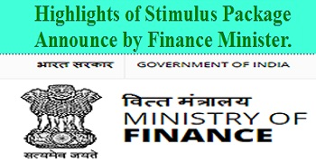 stimulus package highlights