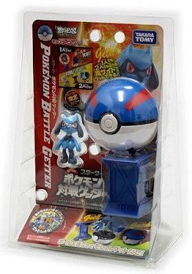 Riolu figure pearl version in Takara Tomy Pokemon Getter toys