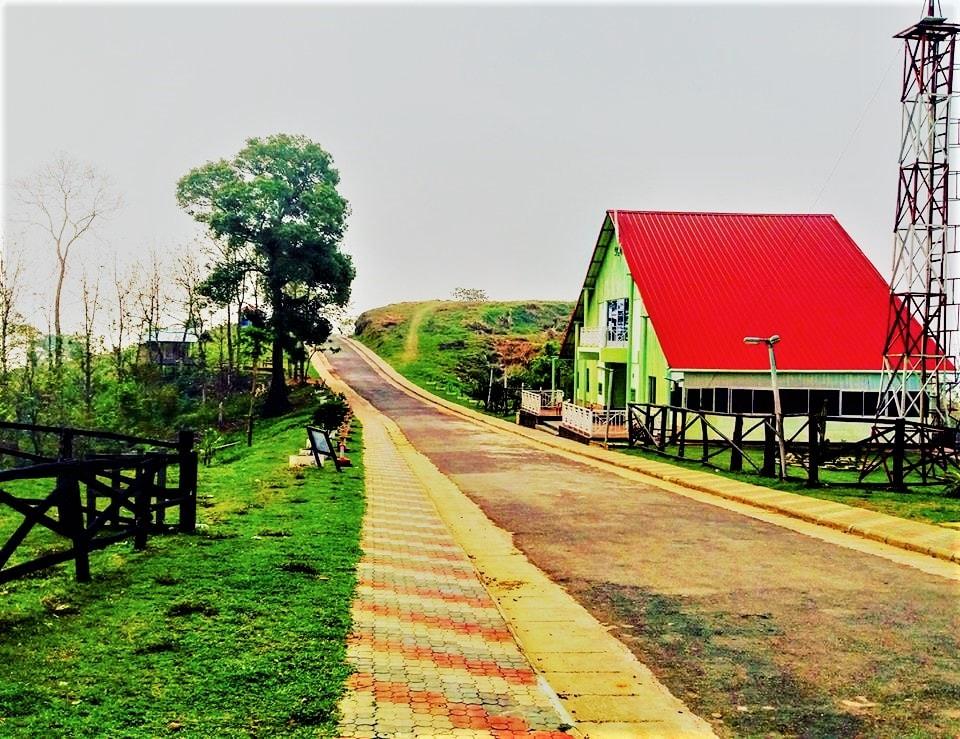 Runmoy resort at Sajek Valley