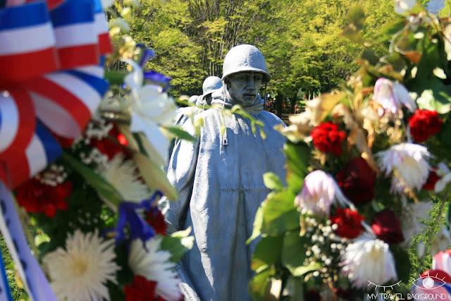 My Travel Background : 12 lieux à visiter à Washington D.C. - Mémorial de la guerre de Corée