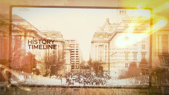Videohive - History Timeline - 21235629