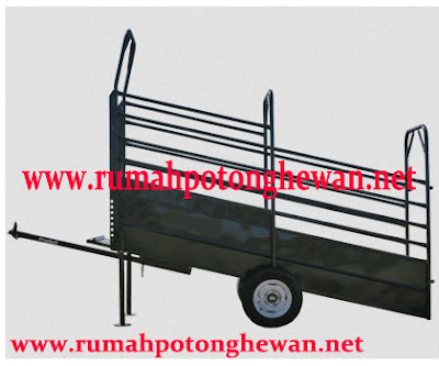 jual catlle loading ramp portabel