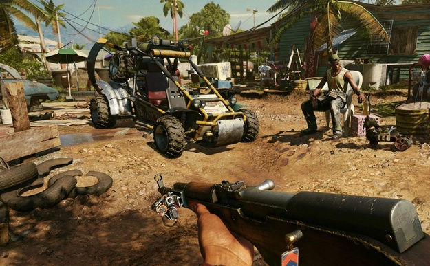 Far Cry 6 changes the formula - enemies won't always shoot as soon as they see you