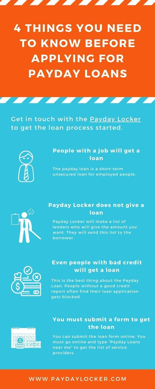 4 Things You Need to Know Before Applying for Payday Loans