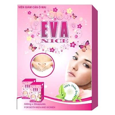 Viên giảm cân ô mai Eva Nice, hỗ trợ chống oxy hóa, giảm mỡ máu