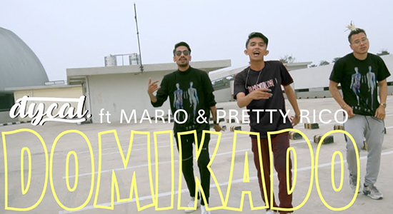 Lirik Lagu Domikado - Dycal ft Mario & Pretty Rico