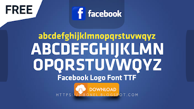 Free Font Logo Facebook