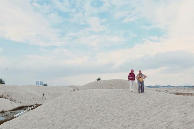 cara menuju ke klebang sand dunes melaka
