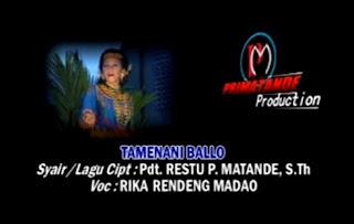 Download Lagu Toraja Tamenani Ballo