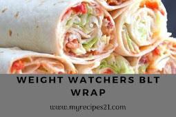 Weight Watchers BLT Wrap