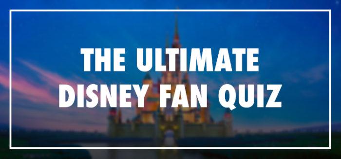 Ultimate Disney Fan Quiz Answers 100% Score Bequizzed