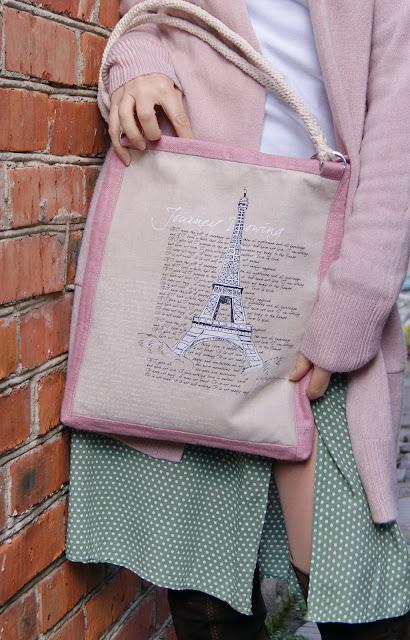 bags, сумки, текстильные сумки, сумки ручной работы, сумка с принтом, французская сумка, сумка с рисунком