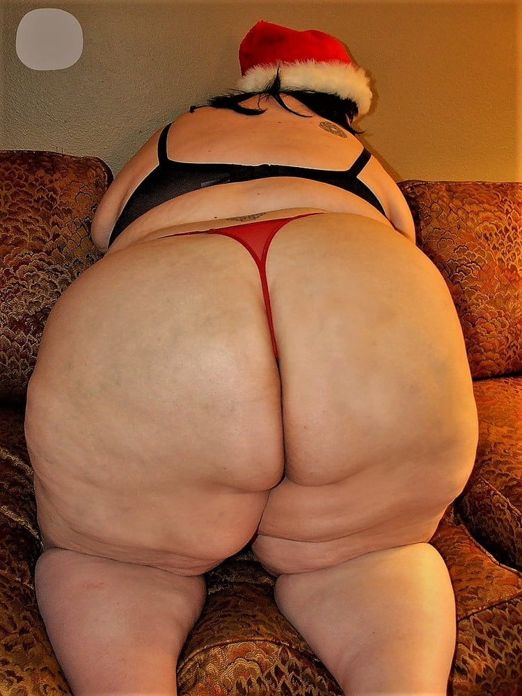 big ass, culo grosso, natale, mutande rosse,