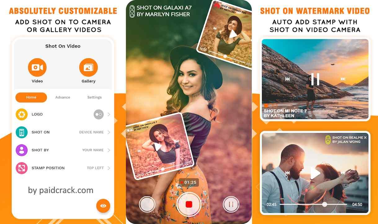 Shot On Video Stamp: ShotOn Stamp Camera & Gallery Pro Mod Apk 1.1