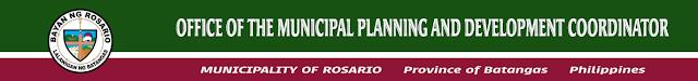 Office of the Municipal Planning Development Coordinator Rosario Batangas