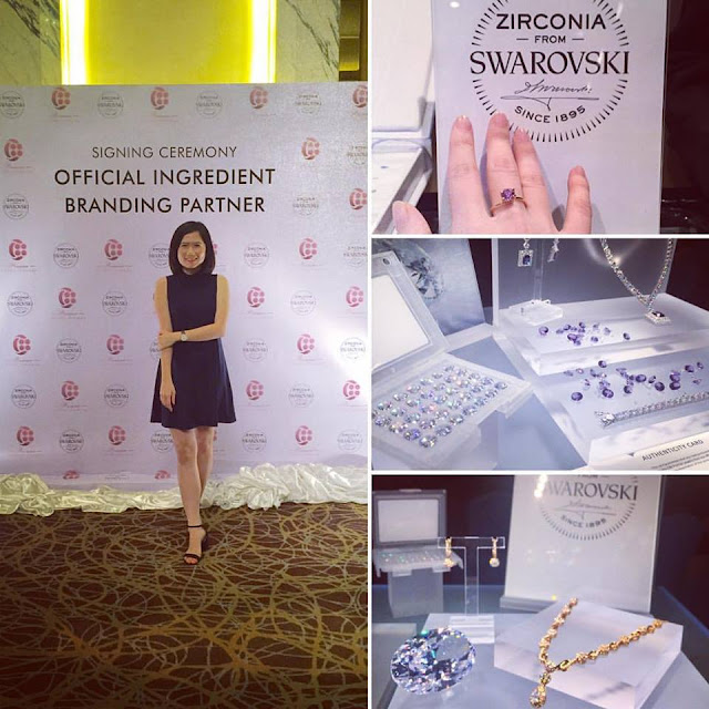 C88 Premier & Swarovski Zirconia co-branding collaboration signing ceremony