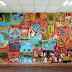 "Alberga casa de cultura de Nextlalpan mural ""El gran señorío de Xaltocan"""