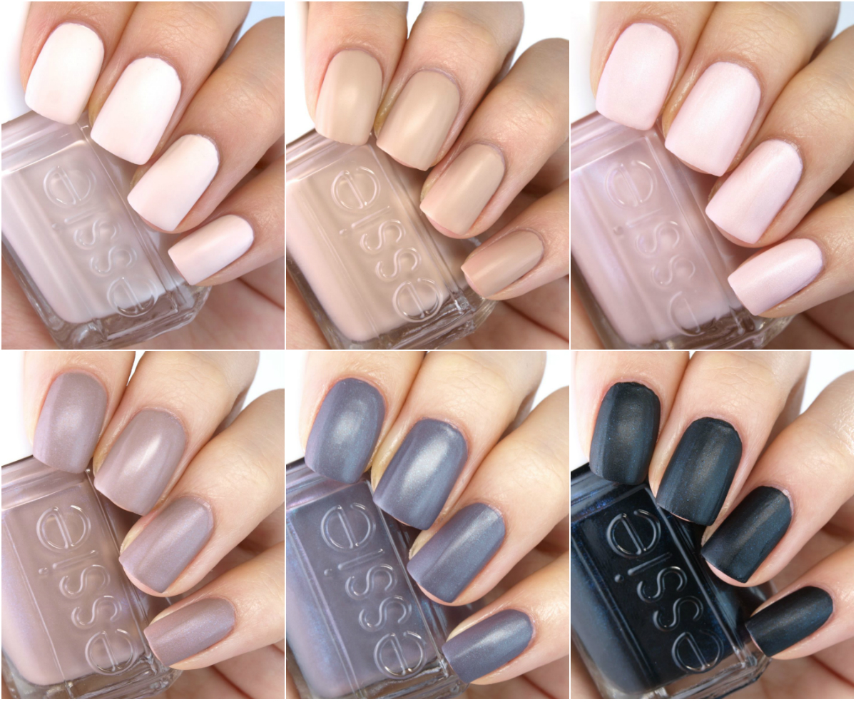Essie Cashmere Matte 2015 Collection: Review and Swatches ...