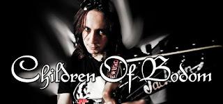 Photo de Daniel Freyberg, nouveau guitariste de Children of Bodom