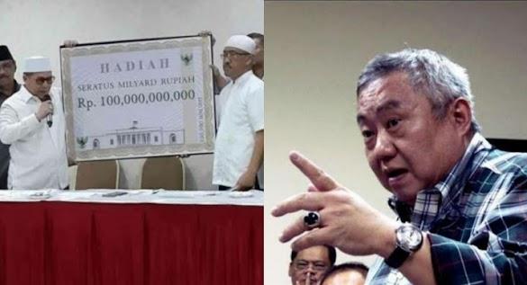 Lieus Tantang Relawan Jokowi Tunjukkan Duit Sayembara Rp 100 Miliar Di Depan Notaris