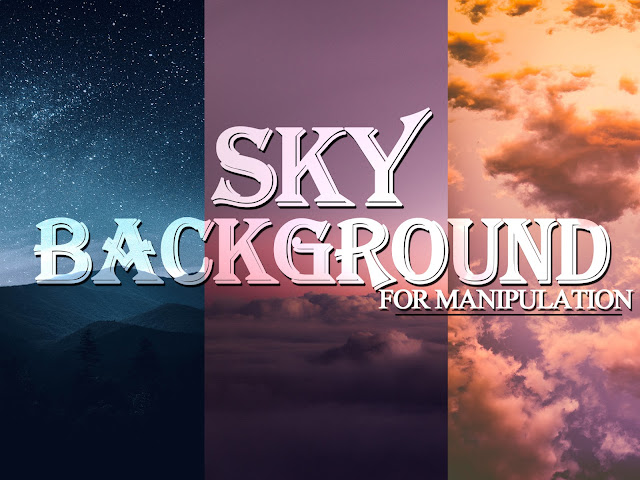 Sky Background For Manipulation