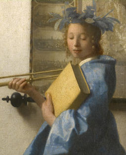 Jan Vermeer Vita Brevis Ars Longa