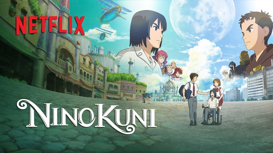 ni no kuni anime movie netflix fantasy drama warner bros wrath of the white witch ninokuni 2 revenant kingdom