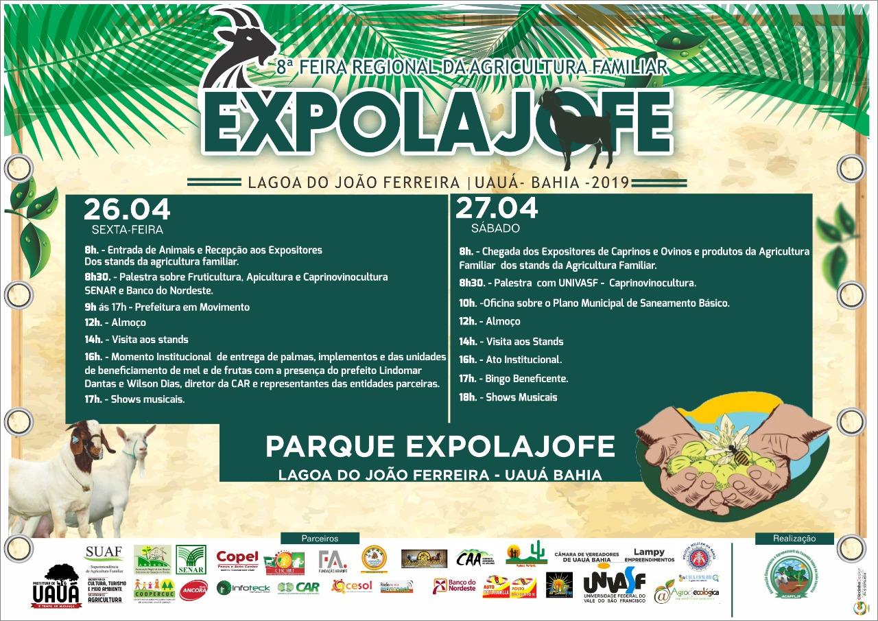Expolajofe 2019 - Apoio UAUA.COM.BR