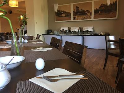 Hotel Diament w Ustroniu, restauracja, śniadanie