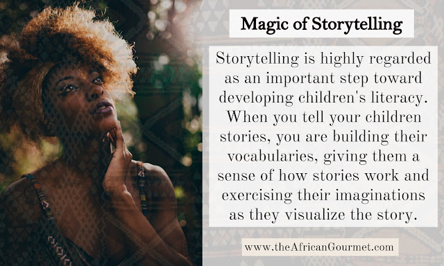 African folklore storytelling