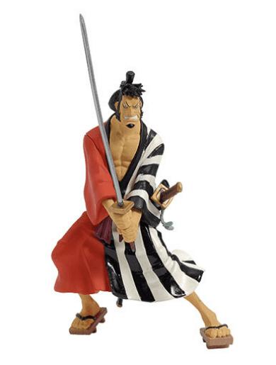 Kinnemon coleccion oficial de figuras de one piece