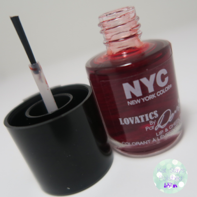 NYC New York Color - Lovatics by Demi: Lip and Cheek Tint | Kat Stays Polished